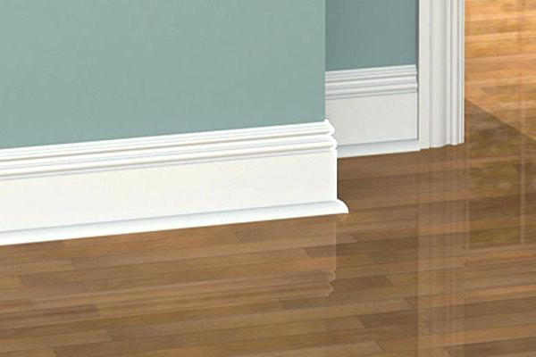 baseboards installation