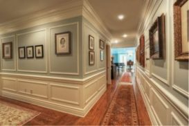 Crown Molding, Baseboards and Wainscoting