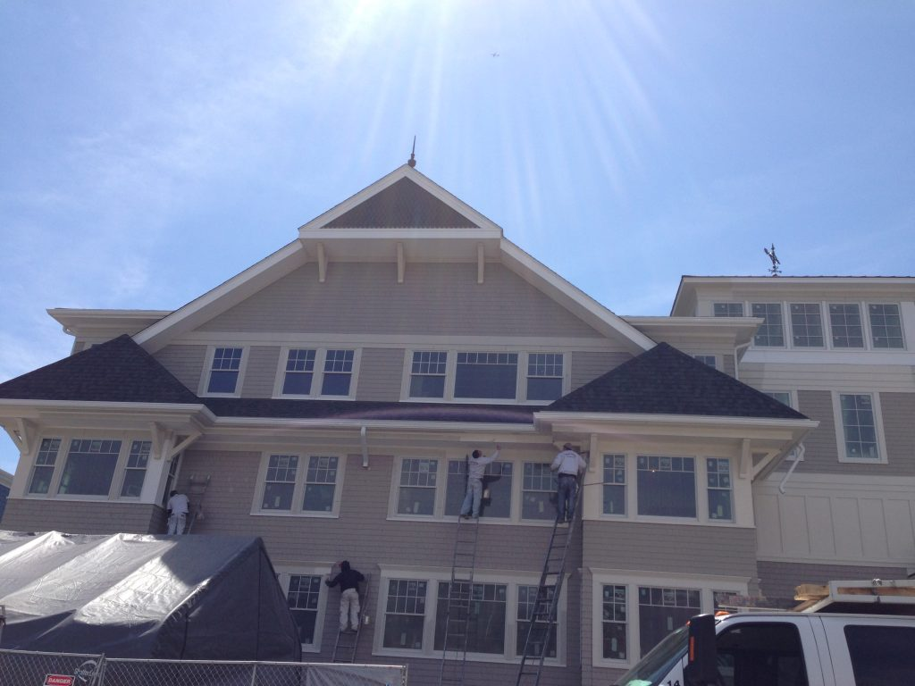 Hot Weather Exterior Painting
