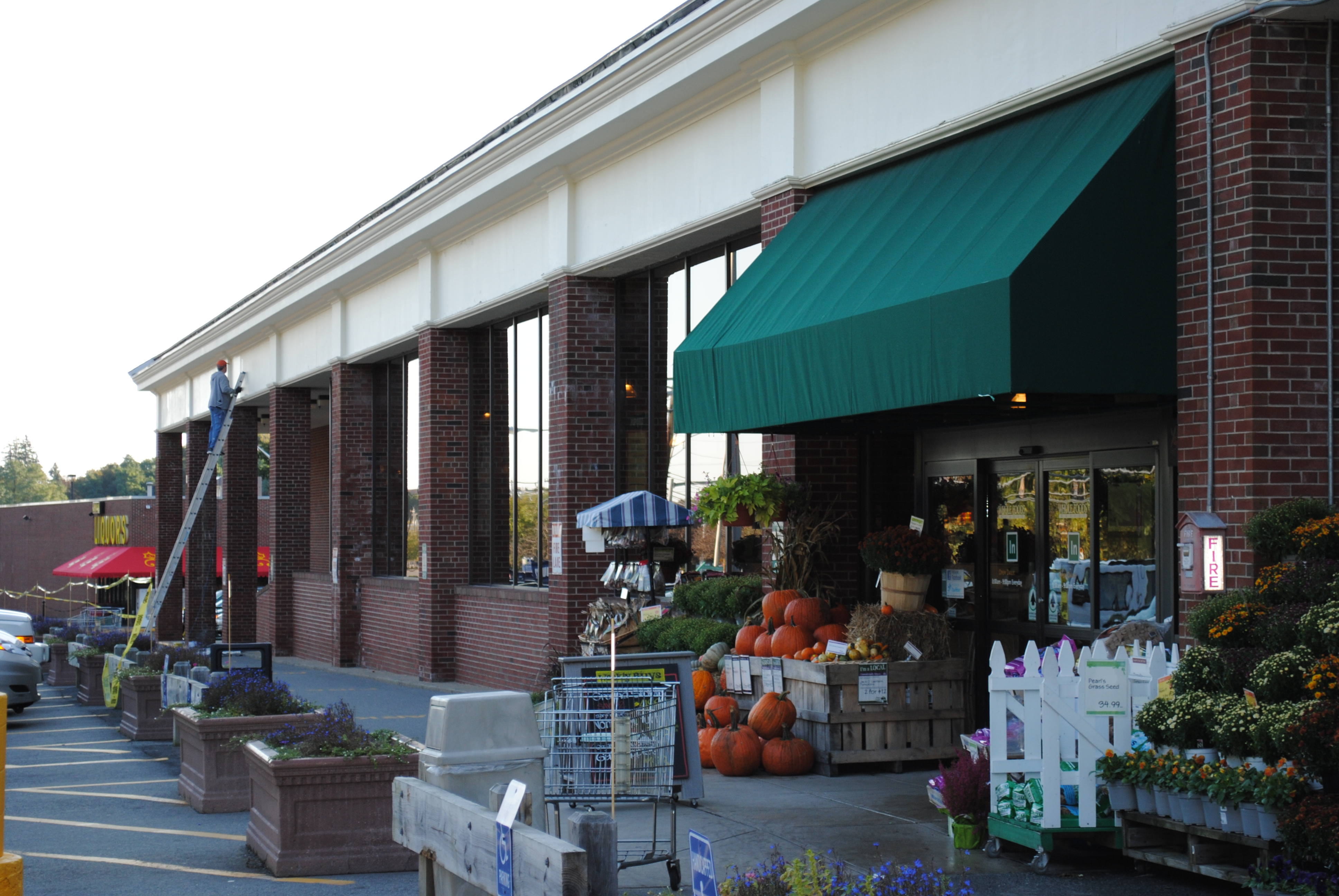 Whole Foods Exterior Painting